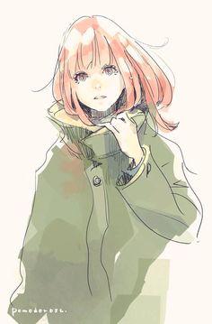 Japanese anime illustration art