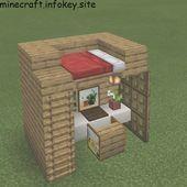 Office / Dorm # @ dandelion_builds # @ mc_tricks_and_tips # # …, # # # # – minecraft Minecraft Farmen, Construction Minecraft, Minecraft Houses Survival, Cute Minecraft Houses, Minecraft House Tutorials, Minecraft House Designs, Minecraft Tutorial, Minecraft Blueprints, Minecraft Crafts