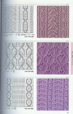 beauty lace and cable knitting patterns spokes. Cable Knitting Patterns, Knitting Stiches, Knitting Charts, Lace Knitting, Knitting Needles, Crochet Stitches, Knitting Socks, Lace Patterns, Stitch Patterns