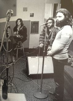 LA Woman recording at The Doors workshop on Santa Monica Boulevard, West Hollywood CA December 1970 (with Marc Benno)