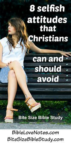 This 1-minute devotion and short Bible study address 8 signs of a narcissist and 8 Christian attitudes that counter these selfish tendencies.