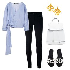 Classic With A Twist - Switch up your basic button-down shirt with an off-the-shoulder style to transformthe typical uniform feel. Pair with embellished flats and a pop of color via bright earrings fora polished ensemble.