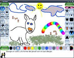 Este programa gratuito enespañolestá pensado para que el niño lo entienda y pueda probar sin miedo, garabatear, borrar, colorear, y todas las cosas de niño que se le ocurran. La ventaja es el ahorro de papel y pinturas y que se mancha menos.