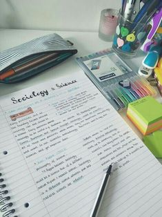 Cute ways to write in your notebook
