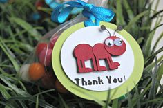 Bug Themed Birthday Party Favor Tags (12)