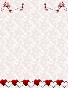 Valentine LetterWriting Stationery  consider it a good rule for