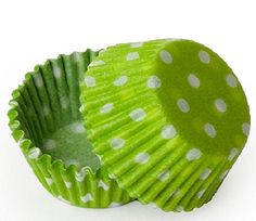 Dress My Cupcake Standard Lime Green Polka Dot Cupcake Liners BULK - 500 Liners - Cupcake Tower, Silicon Baking Cups, Liners Diy Wedding Supplies, Wedding Supplies Wholesale, Diy Party Supplies, Baking Supplies, Baking Tools, Baking Ideas, Polka Dot Cupcakes, Baking Supply Store, Baking Accessories
