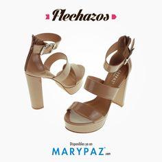 Compartimos un flechazo de la Colección SS/15   Fichas estas sandalias perfetas para looks primaverales ;)  ¿ Qué os parecen ?   #areyouready? #areyoucrazy? #flechazos #bereal #i<3MARYPAZ #itsspring #springON #feelgood #feelMARYPAZ #SS15 #springsummer15 #primaveraverano15 #trendy #moda #cool  Shop at ►http://www.marypaz.com/tienda-online/sandalia-de-tacon-y-plataforma-con-pulsera-44346.html?sku=71173-42