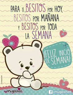 Cute Love, My Love, Love Quotes, Inspirational Quotes, Quotes En Espanol, Cute Messages, Mr Wonderful, Morning Greeting, Spanish Quotes