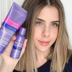 Beating that brass! @itsanitabananita used our new #ShimmerLights products on her beautiful locks. Now her hair is, healthy, happy, and BLONDE! 💜✨ Find the Violet Toning Mask, Leave-in Styling Treatment and Thermal Shine Spray -- everything you need to #KeepUpYourBlonde -- at @ultabeauty. 🛍#ClairolProfessional Shine Spray, Shimmer Lights, Her Hair, Locks, Brass, Healthy, Happy, Collection, Beautiful