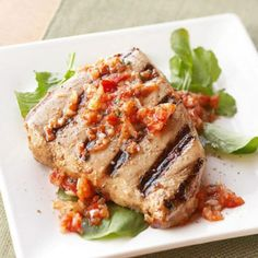 Grilled fish and seafood dishes are yummy additions to a healthful diabetes meal plan. From savory salmon and scallops to tasty tilapia and tuna, these grilled fish and seafood recipes are light yet satisfying.