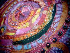 love Jane lafazio's recycled circles