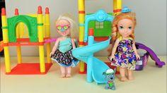 Anna and Elsa Toddlers Shopkins Treasure Hunt Parts 1 and 2 Compilation ...