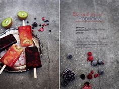 Berry & Fruit Popsicles by Call me cupcake