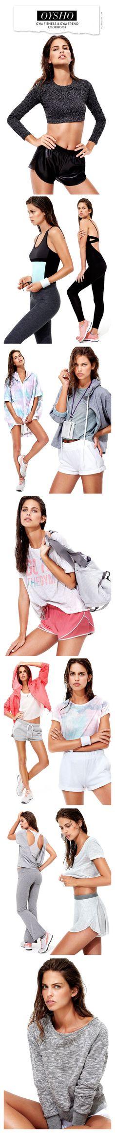 Oysho Gym Fitness & Gym Trend Lookbook