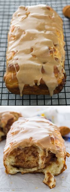 Cinnamon Roll Pull-Apart Bread! Get this Bread Recipe Now for Fall!