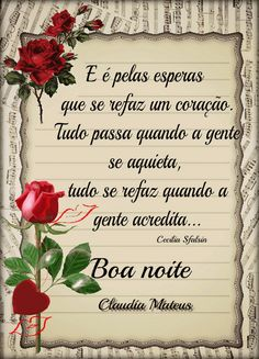 Foto com animação Portuguese Quotes, Spanish Greetings, Morning Blessings, Night Quotes, Good Night, Messages, Sheet Music, Morning Msg, Inspirational