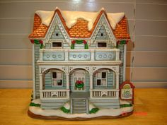 Lefton COLONIAL VILLAGE 1996 Law Office 10825 Handpainted Lighted Houses