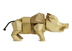 Hugo! The Wild Wooden Boar, designed by David Weeks