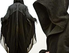 LOTR Inspired Wraith HoodieCloak - www.odd-style.com