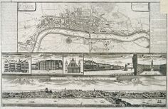 Map of London, c1750 | Flickr - Photo Sharing!