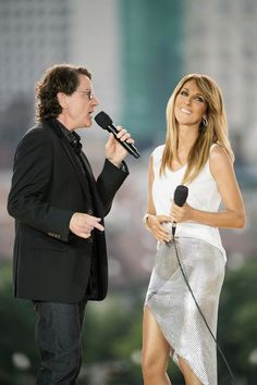 Celine Dion et Francis Cabrel/