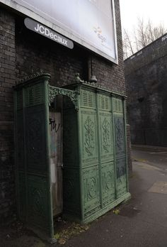 A Victorian toilet on Great Barr Street in Digbeth, Birmingham