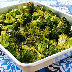 Use same recipe but toss broccoli on the grill.....my favorite summer side dish