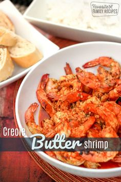 This recipe for Creole Butter Shrimp was so buttery flavorful and delicious We couldnt stop popping these and were fighting over the last bites via favfamilyrecipz Best Seafood Recipes, Fish Recipes, Beef Recipes For Dinner, Cooking Recipes, Summer Recipes, Easy Family Meals, Easy Meals, Family Recipes, Spicy Grilled Shrimp