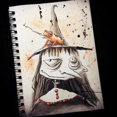 Her illustrations are slightly twisted, a little bit creepy, and nevertheless adorable.