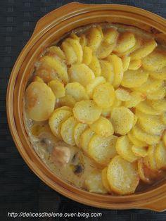 Poulet au cidre et pommes de terre (WW)