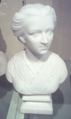 Anna Quincy Waterston, By Edmonia Lewis, Smithsonian American Art Museum