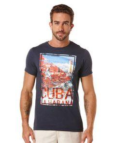 Short Sleeve la Habana Crew shirt from Cubavera.  Get your rebate from RebateBlast.