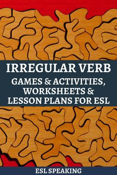 If you're looking for some of the best ESL irregular verb activities and games, then you're certainly in the right place. Keep on reading for all the details you need to know about ESL irregular verbs, including these lesson plan ideas, worksheets, and more. Fluency Activities, Grammar Activities, Teaching Tools, Teaching Resources, Conversation Between Two People, Verb Games, Irregular Past Tense Verbs, Present Tense Verbs, Grammar Quiz