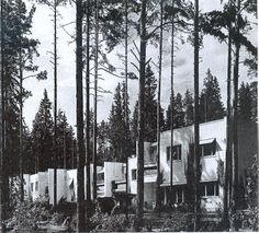 Alvar Aalto, Industrial, Architecture, Buildings, Outdoor, House, Scandinavian, Finland, Architects