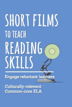 Teach EVERY reading literature and reading informational text common core state standard using inspirational and engaging short films and video clips! For an entire year of highly engaging, no prep… Reading Lessons, Reading Resources, Reading Strategies, Reading Activities, Reading Skills, Teaching Reading, Reading Comprehension, Teaching Tips, Learning