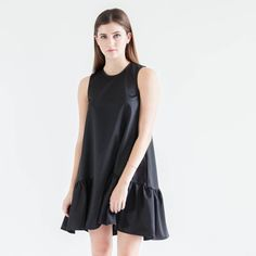 Modern Citizen  |  Ella Ruffle Hem Dress - Pre-Order $100