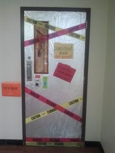 agency d3 vbs 2014 | VBS 2014 - LifeWay's Agency D3 - Spy Theme ~Have the caution tape over doors that they are not allowed.