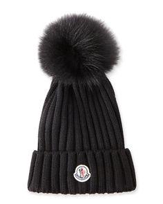 moncler bobble hat sale