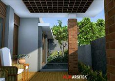 Proyek : Rumah tropis 1 lantai Luas : 150m2 Lokasi : Jakarta  Konsep teras dan entrance rumah tropis modern #rumahtropis #rumahtropismodern #rumahminimalis