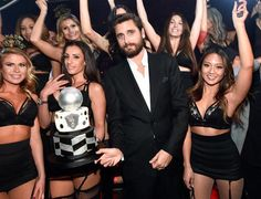 Reality star Scott Disick hosts New Year's Eve bash at 1 OAK Nightclub inside The Mirage Hotel & Casino (Photo credit: David Becker / WireImage).