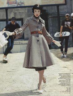 VogueKorea Title: My Fair Lady Model:Han Hye Jin Photographed by Hong Jang Hyun October 2013