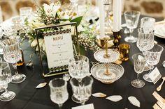 La-soeur-de-la-mariee-blog-mariage-inspirations-gatsby Gatsby Style, Decor Styles, Illusions, Marie, Table Settings, Table Decorations, Flowers, Wedding, Classic