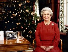 Queen Elizabeth turns her life in photos - Britain's Queen Elizabeth II during the recording of her annual Christmas message to Britain and the Commonwealth at Sandringham, England, in December of Hm The Queen, Queen Mary, Queen Elizabeth Ii, Royal Uk, Royal Christmas, Christmas Messages, Prince Phillip, Queen Of England, All Family
