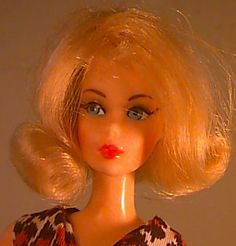Barbie. 1969, 70, 71? But mine was a brunette.