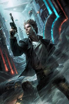 Star Wars Han Solo Ahead of the Odds Art Print