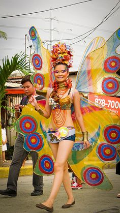 """Paru-paro Festival"" in Dasma, Cavite."