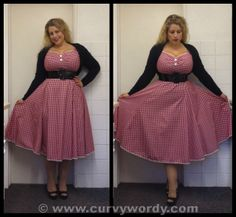 Collectif Dolores Sweetheart Gingham Doll Dress http://www.curvywordy.com/2014/05/collectif-dolores-sweetheart-gingham.html