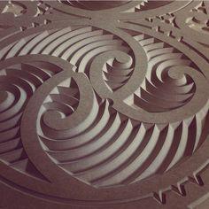 CNC project Chip Carving, Bone Carving, 3d Pattern, Surface Pattern, Maori Symbols, Maori Patterns, Polynesian Art, Maori Designs, Coral Design