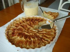 Omenapiirakka (apple pie) A gluten-free apple pie, served with cinnamon and vanilla sauce. | 42 Traditional Finnish Foods That You Desperately Need In Your Life